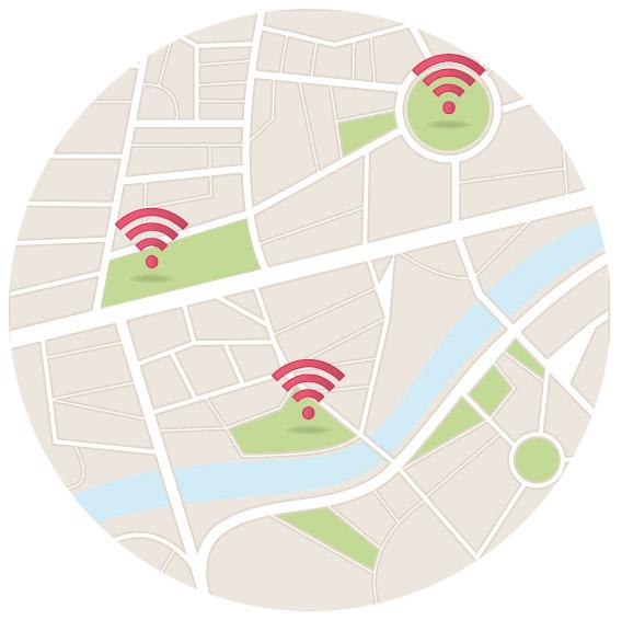 wifi hotspots schnell einfach finden bei yellowmap. Black Bedroom Furniture Sets. Home Design Ideas