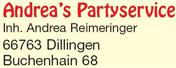 Logo von Andrea's Partyservice