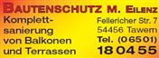 Logo von Bautenschutz M. Eilenz