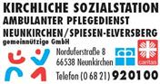 Logo von Kirchliche Sozialstation Neunkirchen/Spiesen-Elversberg gem. GmbH