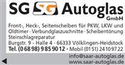 Logo von SG Autoglas GmbH