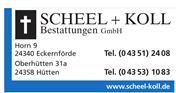 Logo von Scheel + Koll Bestattungen GmbH
