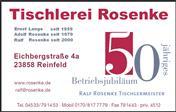 Logo von Tischlerei Rosenke