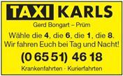 Logo von Taxi Karls