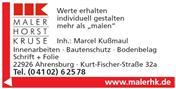 Logo von Maler Horst Kruse e.K.
