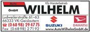 Logo von Auto Wilhelm GmbH