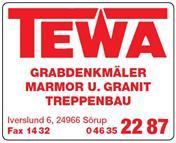 Logo von TEWA Betonwerk und Naturstein GmbH