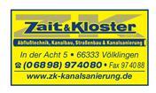Logo von Zait u. Kloster GmbH