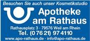 Logo von Apotheke am Rathaus