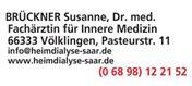 Logo von Dr. med. Susanne Brückner