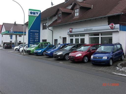Firmengebäude Autohaus Sedlmeier GmbH