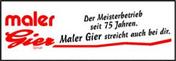Logo von Gier Rolf Malergeschäft