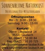 Logo von Sonnenblume Naturkost - Der regionale Bio-Mitgliederladen