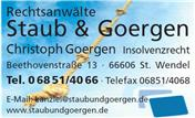 Logo von Staub & Goergen