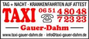Logo von Taxi Gauer-Dahm GmbH & Co. KG