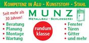 Logo von Metallbau Munz GmbH