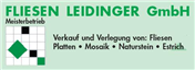 Logo von Fliesenleger Fliesen Leidinger GmbH