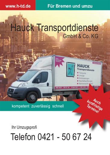 Umzüge, Entrümpelungen, Haushaltsauflösungen, Möbeltransporte, Klaviertransporte in Bremen