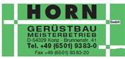 Logo von Horn Gerüstbau GmbH