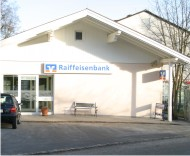 Firmengebäude VR Bank Bernried - Filiale der VR Bank Starnberg-Herrsching-Landsberg