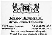 Logo von Johann Brummer - Brummer-Metalldesign