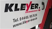 Logo von Kleyer  Krandienst