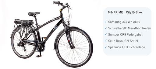 M8-PRIME E-Bike - GmbH