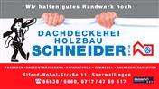 Logo von Dachdeckerei Holzbau Schneider GmbH