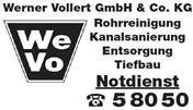 Logo von WE VO - Werner Vollert Entsorgung GmbH & Co. KG
