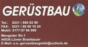 Logo von E&S Gerüstbau GmbH