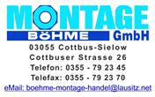Logo von Böhme Montage- & Handelsgesellschaft mbH