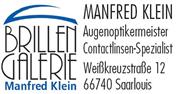 Logo von Brillen Galerie Manfred Klein