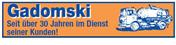 Logo von Gadomski Kanalreinigung