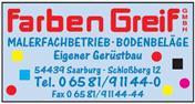 Logo von Farben Greif GmbH