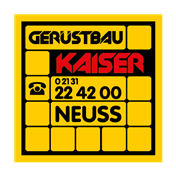 Logo von Gerüstbau Kaiser