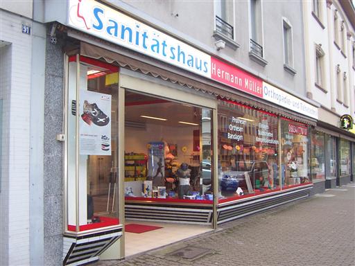 Firmengebäude Sanitätshaus Müller