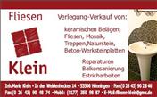 Logo von Fliesen Klein