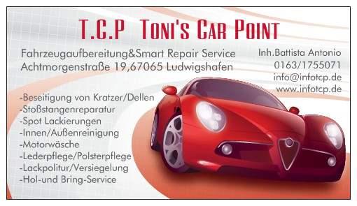 t c p toni 39 s car point ludwigshafen 67065 yellowmap. Black Bedroom Furniture Sets. Home Design Ideas