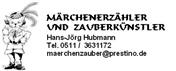 Logo von Märchenerzähler und Zauberer für Erwachsene und Kinder