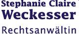 Logo von Rechtsanwältin Stephanie Claire Weckesser