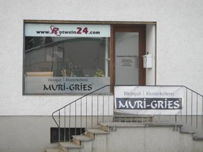 Firmengebäude Rotwein24 - Getränke Kondraschin
