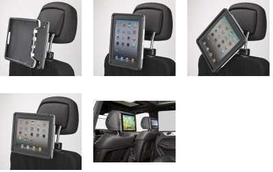 iPad Lösungen  Fond-Integration Plus - KBM Motorfahrzeuge GmbH & Co. KG