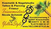 Logo von FRISEUR * YELLOW-STYLE * KOSMETIK & NAGELSTUDIO