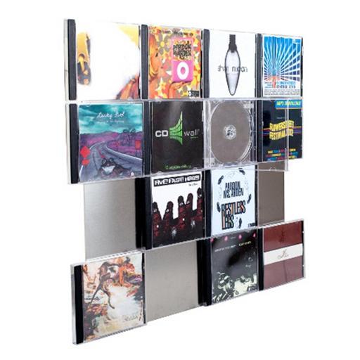 CD-Wandregal CD-Wall4x4 - CD-Wall