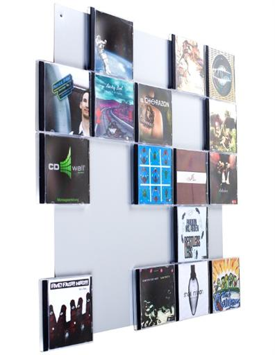 CD-Wandregal CD-Wall5x5 - CD-Wall