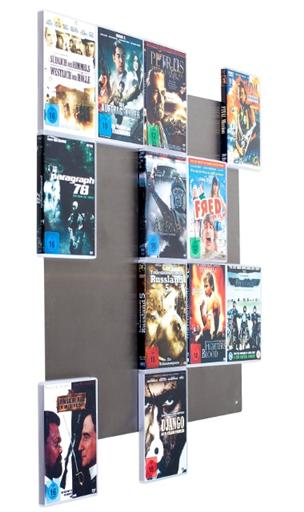 DVD-Wandregal DVD-Wall5x4 - CD-Wall