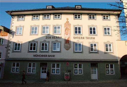 Firmengebäude Münchner Bank eG