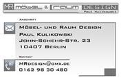 Logo von / Möbelbau