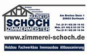 Logo von Markus Schoch - Zimmermeister Markus Schoch