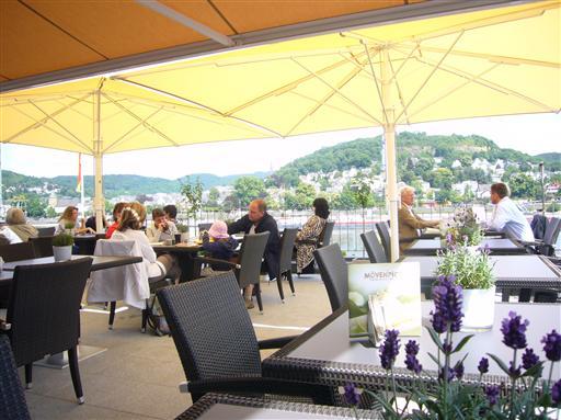 RheinHotel ARTE - Terrasse